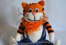 Amigurumi cats (my toys) / http://kliry.blogspot.ru/