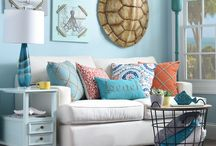 Beach Cottage / Beautiful Blue Hues