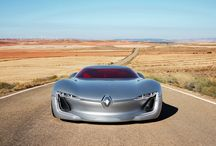 Renault TREZOR / Renault TREZOR: an electric GT showcases future design cues and technologies. Renault TREZOR, a two-seater electric coupé, embodies the new design philosophy Renault introduced on its DeZir concept in 2010