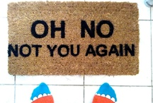 Doormats / by Electric Fairground