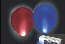 glowing balloons / by Amber Hagans