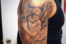 Tatuagem de anjos
