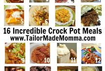 Crock pot recipes / by Judi Hightower