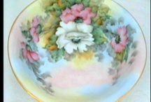 hand painted dishes / by Louise Ord