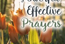 Powerful Prayers / Need encouragement for your prayer life? Check out these powerful posts on prayer!