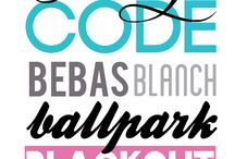 Fonts and Clip Art / by Genelle Cunningham Gardner