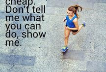 Get fit / Healthy living