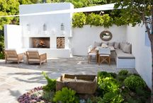 Outdoor entertainment areas / Braai and sit
