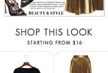 Fashion Polyvore 2 / Fashion, beauty  / by Crystal Barraza