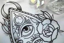 ouija tattoo
