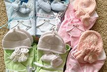 Sewing: bereavement gowns, buntings, blankets and hats / by Kat