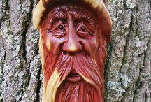 Wood carving / Intaglio legno