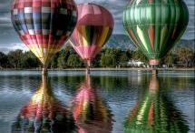 Hot air balloons / by Vicky Garrison