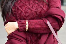 Fashion: Burgundy