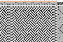 8 schachts patronen / Weefpatronen voor 8 schachten
