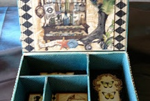 Altered Cigar Boxes or Boxes / by Valerie Wells