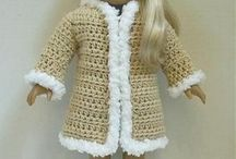 """18"""" Doll Clothes Crochet Patterns"""
