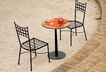 Mesa y sillas terraza para dos