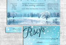 Snowflake Winter Wedding