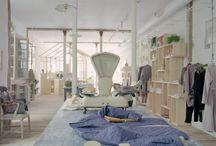 Spaces around the globe / Concept stores, hotels, restaurants, interior design