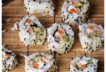 Recettes: sushis