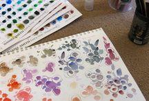 Watercolour Color Charts