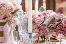 mariage - déco tables