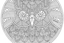 Coloring, Patterns, & Templets / by L Robey