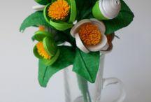 Kwiaty / kwiaty zrobione własnoręcznie