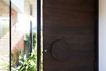 Doors and entry ways