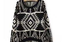 Sweater. Blouse. Jacket