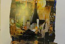 Collage Art by Adora Cutanoska / Collage Art