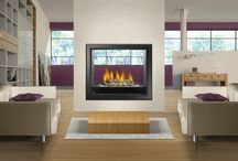 Contemporary / Contemporary designs offer simplicity, sleekness, clean lines and lots of light. Horizontal hearths often work well in these designs and Contemporary's embrace of technology allows for having a television over the fireplace.