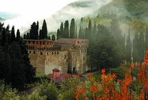 Tuscan Castles / Just a few of the spectacular tuscan castles available for wedding celebrations!