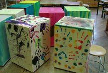 Cajóns / Die Cajón kann man auch selbst bauen. Dies tun wir mit Kindern ab der 3. Klasse, aber auch allen anderen Interessierten. Weitere Informationen unter www.innovative-bildung.de