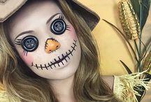 maquiagem halloween masculina / Hallowin