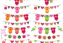Baby Clip Art / Find beautiful baby and nursery clip art designs and patterns