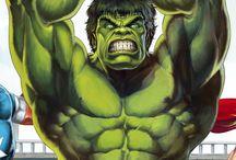 The Avengeurs / J'ai colorisé une couverture du #IronMan N° 131 à partir d'un dessin de #BobLayton http://www.golgoth71arts.com/pages/illustrations/ #IronMan, #BobLayton, #avengers, #Hulk, #Thor, #CptAmerica, #Infographie, #Illustration, #Painter, #Wacom