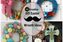 Easter Wreath Ideas / Easter crafts