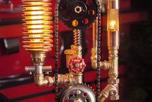 Steampunk DIY Industrial Pipe Lamp #7