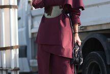 Marsala Fashion Outfits / Meet Marsala, the Pantone colour for 2015
