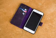 iPhone 7 Series Leather Case - PURPLE