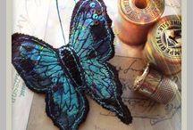 bordados borboletas