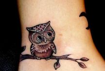 tatto Owl / Cupe-Cake