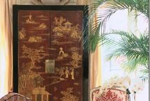 Chinoiserie in home stunning interiors country house beach colours / Things, interiors and stunning furniture <3