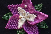 koralikowe kwiaty wideo schematy