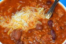 Soups, stews, and chili