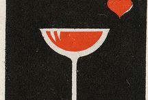 カフェー・マッチ・夜のマッチ / カフェーをはじめ、バーや洋酒喫茶などで艶っぽいデザインのマッチラベル