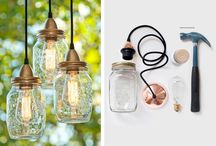 Riciclo creativo dei barattoli di vetro / Mason Jar recycle ideas / Tante idee creative e originali per riutilizzare i barattoli di vetro e creare oggetti esclusivi e utili per la casa in stile country e shabby chic!