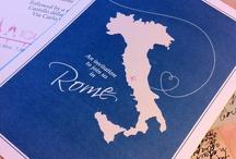 Rome inspired Invitations